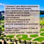 Dreams of Cake & Claret Jasper Brandisi